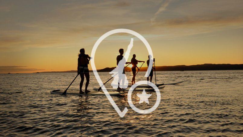 Sunset Yoga & Paddleboard on Garda Lake